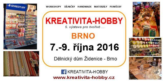 č.1789: Kreativita - Hobby Brno