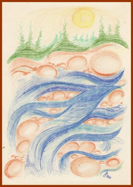 č.2008: Kurz kreslení - barvy kolem nás