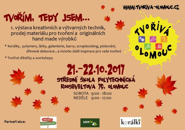 č.2042: TVOŘIVÁ OLOMOUC - 21. - 22. 10. 2017