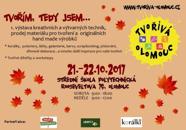 č.2043: TVOŘIVÁ OLOMOUC - 21. - 22. 10. 2017