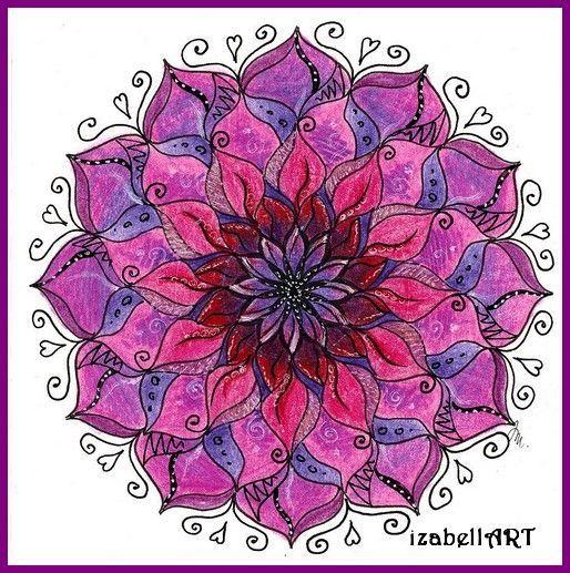 č.2064: Mandala pro štěstí