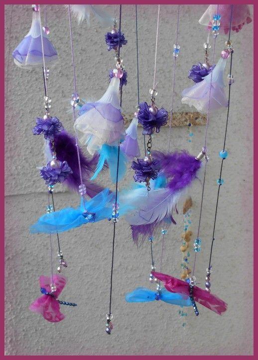 č.2100: Závěsná dekorace s motýlky