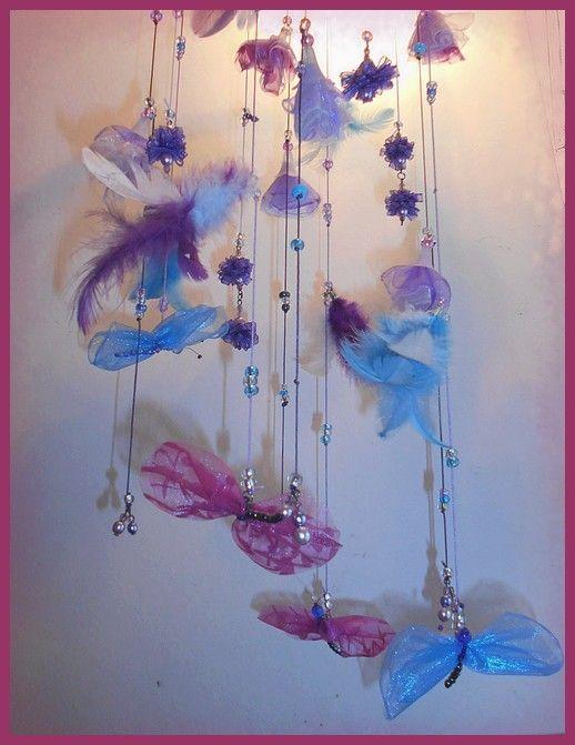 č.2101: Závěsná dekorace s motýlky