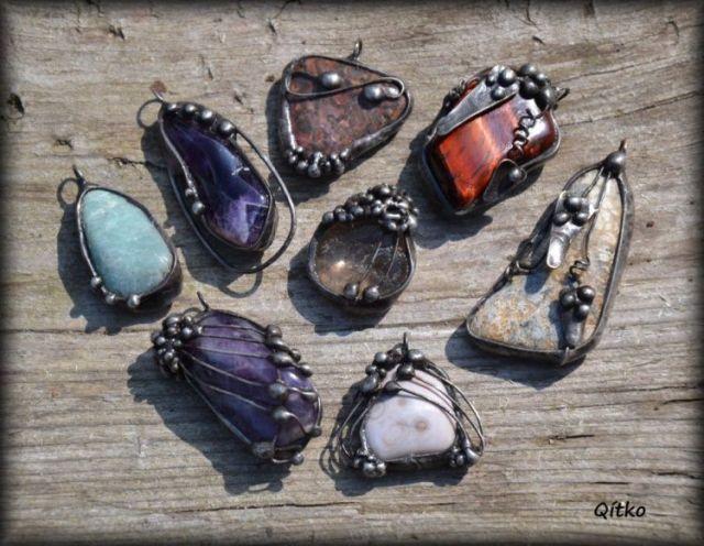 č.2104: Základy cínovaného šperku - minerály