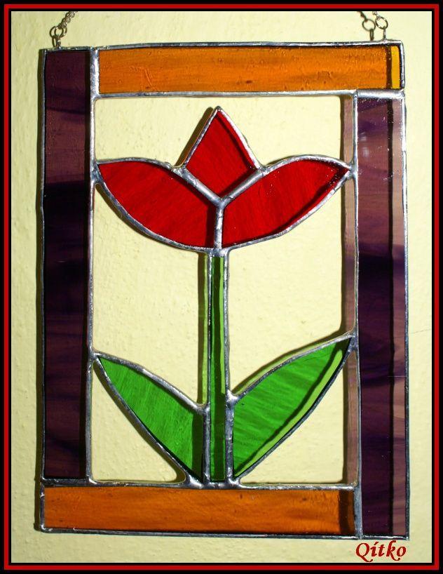 č.2141: Tiffany vitráže pro začátečníky - JARNÍ MOTIVY