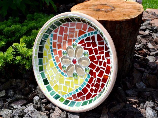 č.2188: Skleněná mozaika - MÍSA