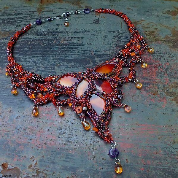 č.2196: Freeform pro pokročilé - náhrdelník (celodenní)