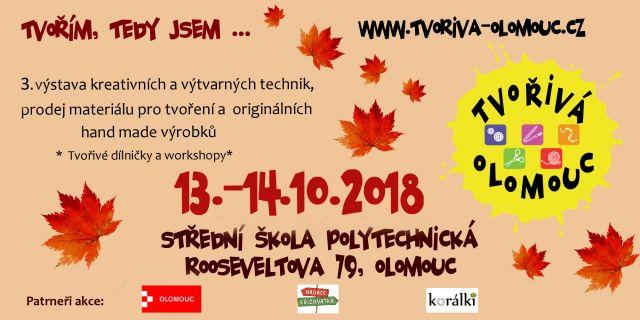 č.2204: TVOŘIVÁ OLOMOUC - 13. - 14. 10. 2018