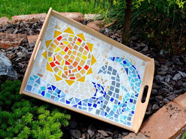 č.2212: Skleněná mozaika - TÁC