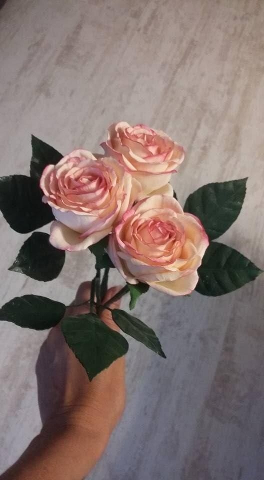 č.2219: FOAMIRAN - Růže na stonku