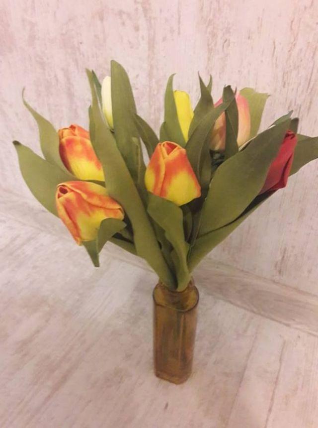 č.2258: Květiny z Foamiranu  - TULIPÁN