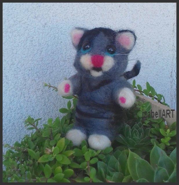 č.2262: Plstěná kočička