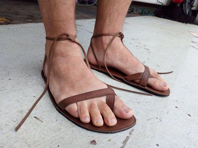 č.2280: Výroba barefoot sandálů
